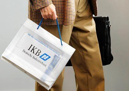 Kommt vielleicht doch in die Tüte: Das Mittelstandsgeschäft der IKB