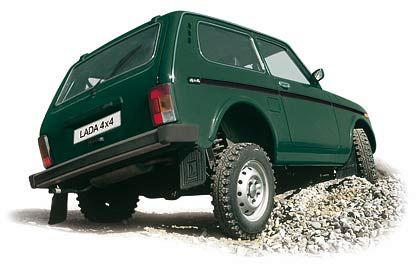 Geländewagen Niva: Der in Deutschland bestverkaufte Lada wurde in 30 Jahren kaum verändert und ist für knapp 10.000 Euro zu haben