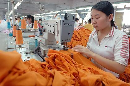 Textilfabrik in China: Als Lohnfertiger willkommen, als Konkurrent bekämpft
