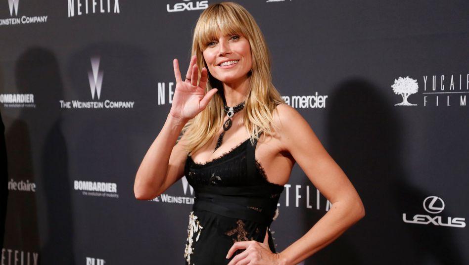 Gast bei der Netflix-Party: Auch Heidi Klum feiert mit