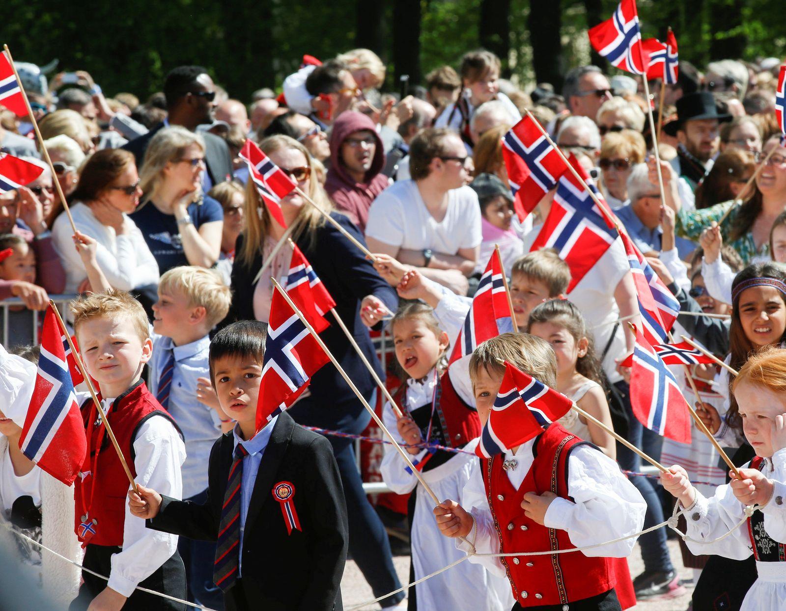 Norwegen / Glücksstudie