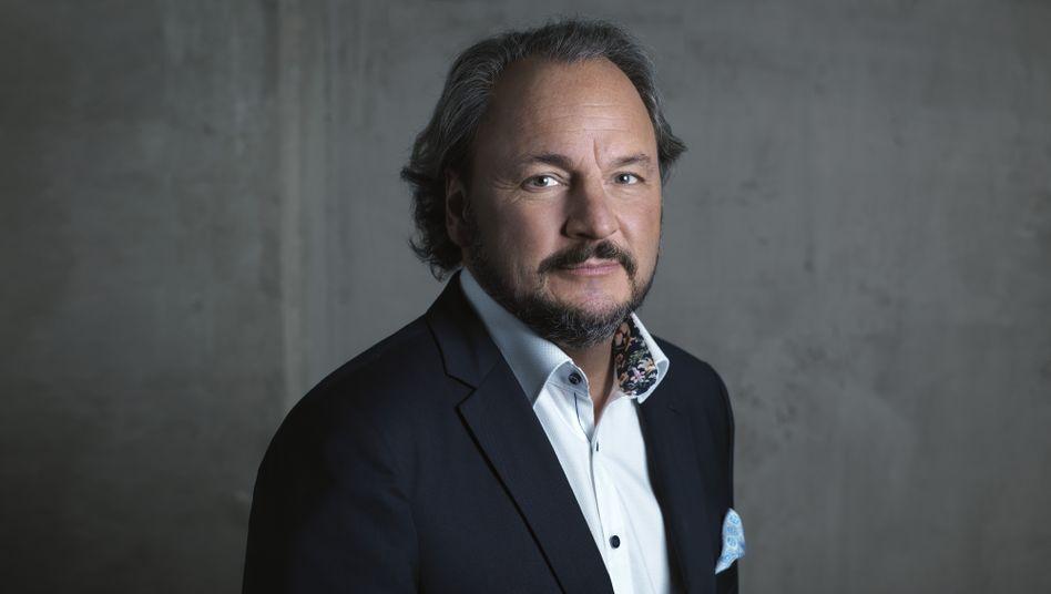 Geldbringer: Freenet-Chef Christoph Vilanek.