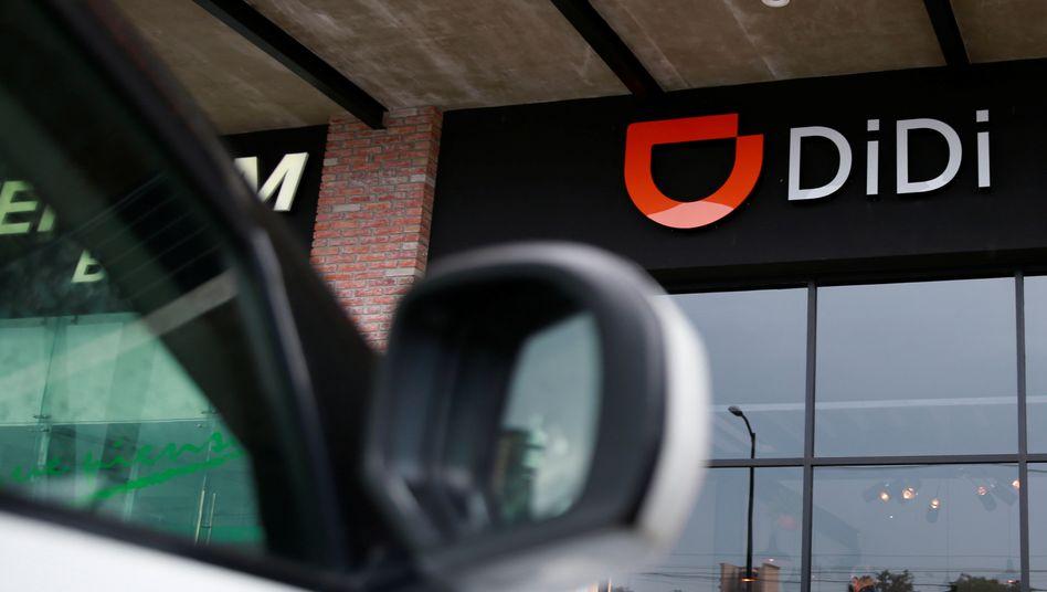 Didi-Chuxing-Logo: Der Fahrdienst zählt nach eigenen Angaben mehr als 550 Millionen Nutzer.
