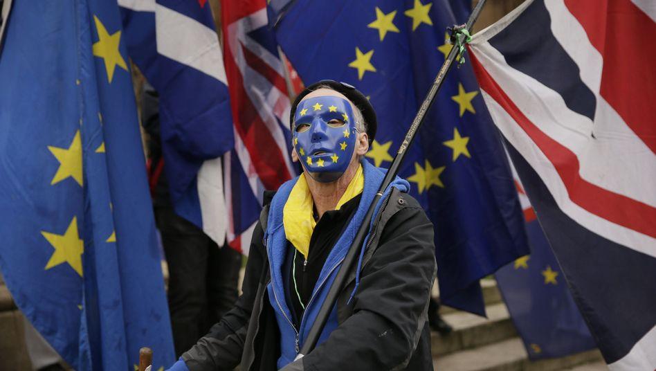 Anti-Brexit Kampagne in London