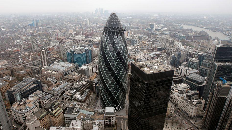 """""""The Gherkin"""": Der Büroturm in London gehört zum Portfolio eines IVG-Fonds"""