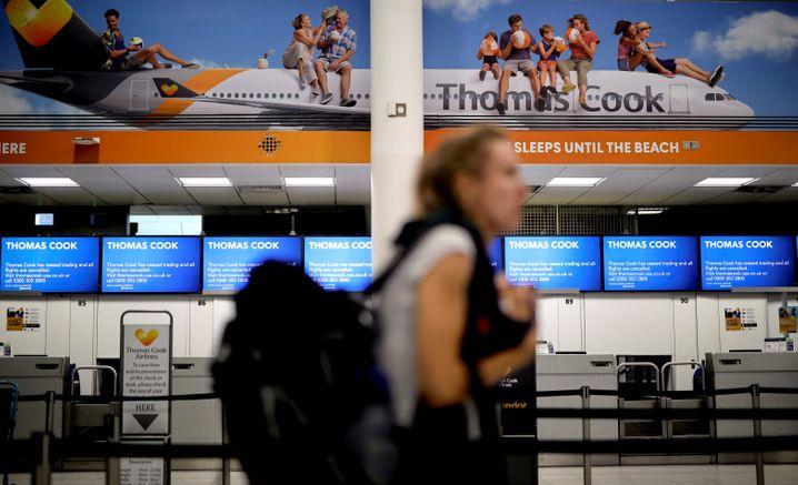 Thomas Cook: Auch der deutsche Reiseveranstalter mit den Marken Neckermann, Öger Tours und Air Marin ist insolvent. Beim Ferienflieger Condor geht der Betrieb jedoch weiter - dank eines 380-Millionen-Kredits vom Staat
