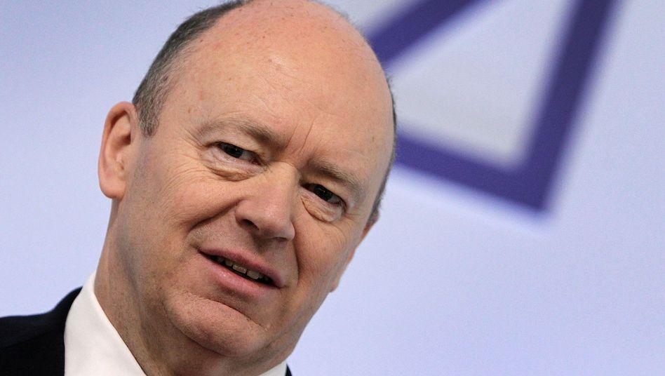 Unzufrieden trotz Gewinnsteigerung: Deutsche-Bank-Chef Cryan