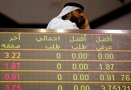 Auf Talfahrt: Die Kurse in Dubai kennen zurzeit nur eine Richtung - abwärts