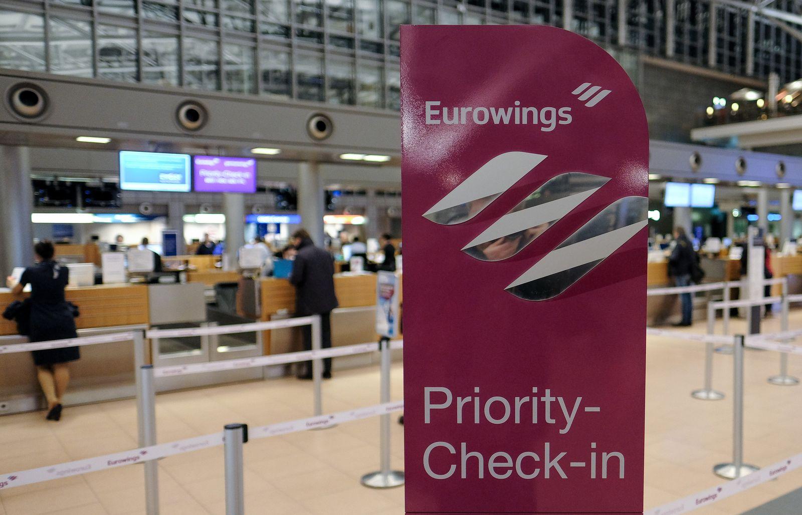 Eurowings-Streik in Hamburg