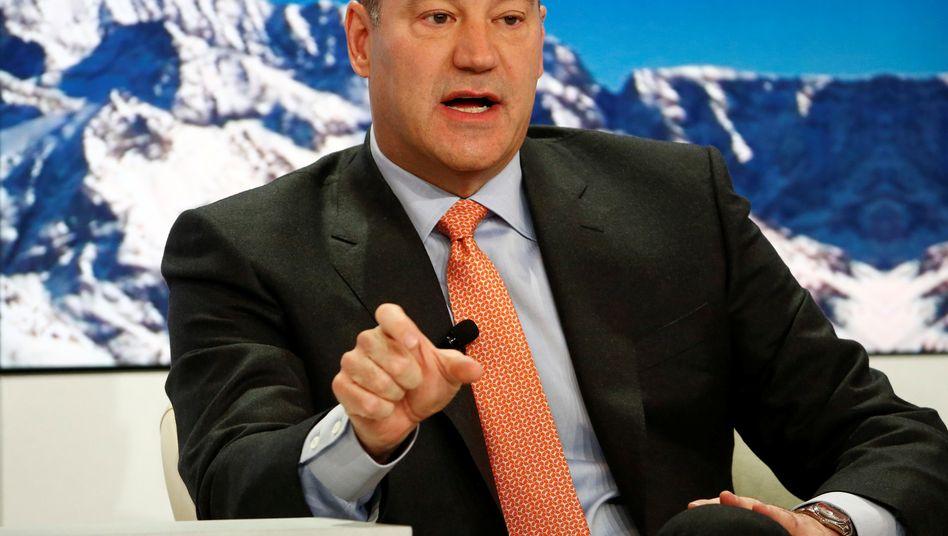 Gary Cohn, Vize-Chef von Goldman Sachs, hier auf dem Weltwirtschaftsforum in Davos 2015.