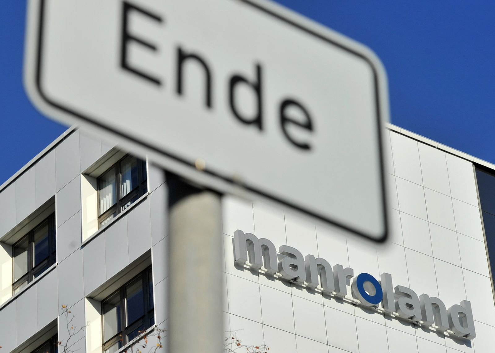 Manroland / Ende