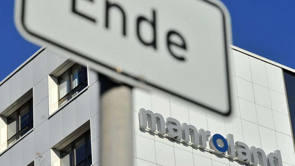 Manroland-Werk: Seit 2009 schreibt der Konzern Verluste