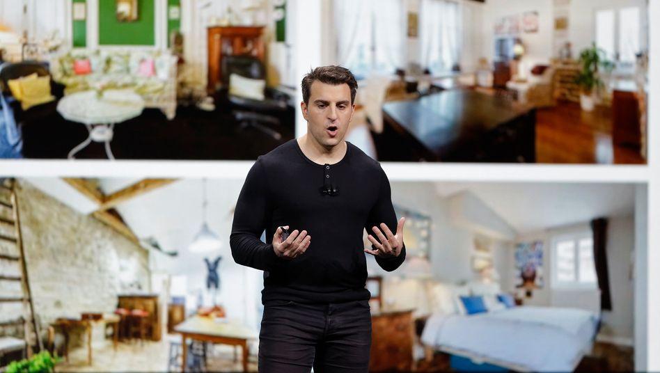 Ausgebremst: Airbnb-Chef Brain Chesky