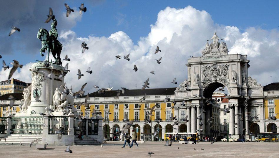 Portugals Hauptstadt Lissabon: Für 2011 wird mit einem Defizit in Höhe von 5,9 Prozent gerechnet