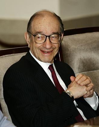 Schalk im Nacken: Ex-US-Notenbankchef Greenspan