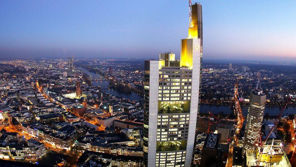 Coba-Zentrale: Insgesamt hat die Bank für Rechtsstreitigkeiten 934 Millionen Euro Rückstellungen gebildet