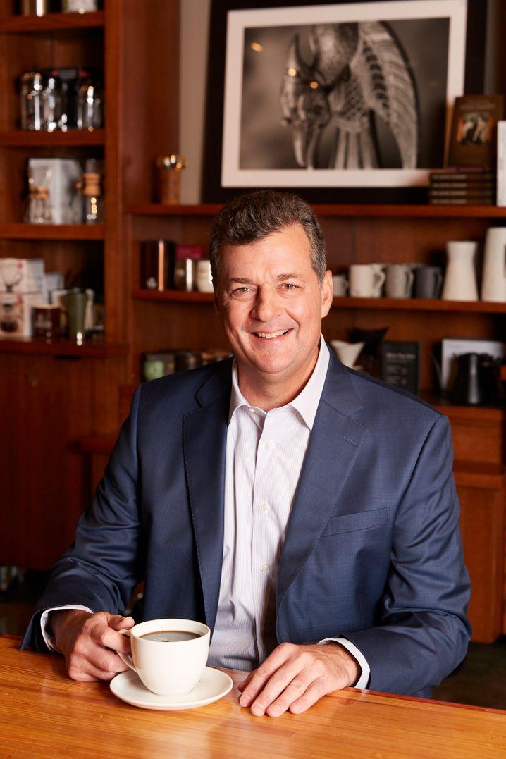 Früher war er US Navy, jetzt ist er King Coffee: Casey Keller.