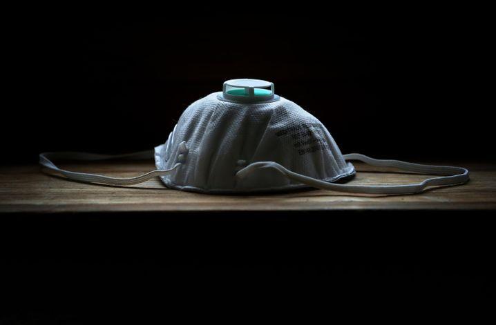 Derzeit sehr gefragt: Eine FFP2-Atemschutzmaske.
