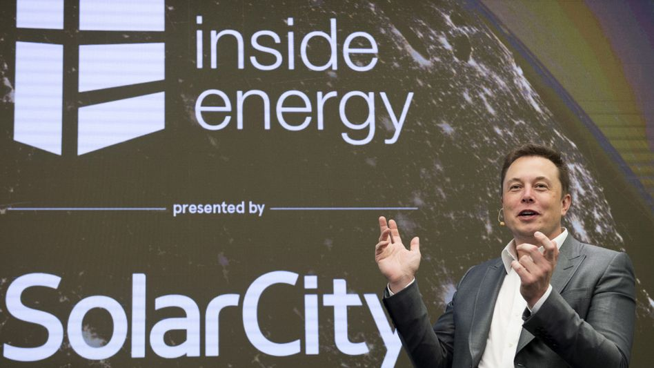 Elon Musk, Strippenzieher bei SolarCity und Tesla