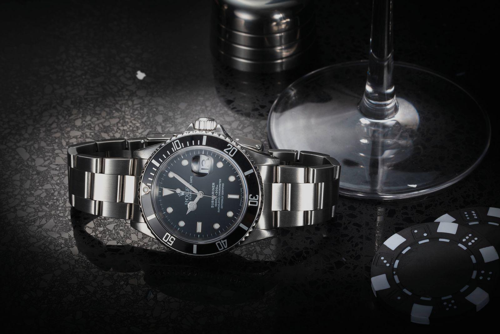 Timothy Dalton - Rolex Submariner 16610