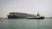 Wie die Suezkanal-Blockade Deutschland trifft