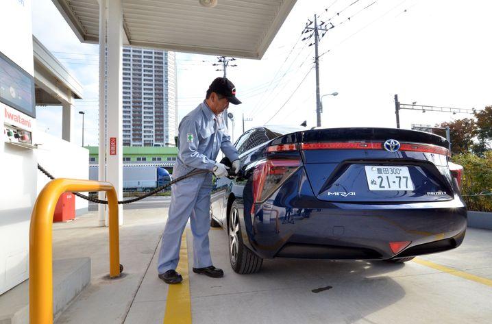 Brennstoffzellenauto in Tokio: Wasserstoff als Insellösung für Japan