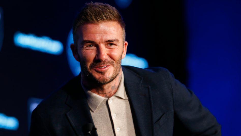 Ex-Fußballprofi David Beckham