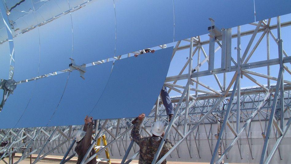 Solaranlage von Solar Millenium: Finanzierung des Projekts Ibersol in Spanien über einen öffentlichen Fonds ist gescheitert - das war der letzte Schlag für das Unternehmen