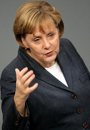 Angela Merkel: Genug Steuern gesenkt