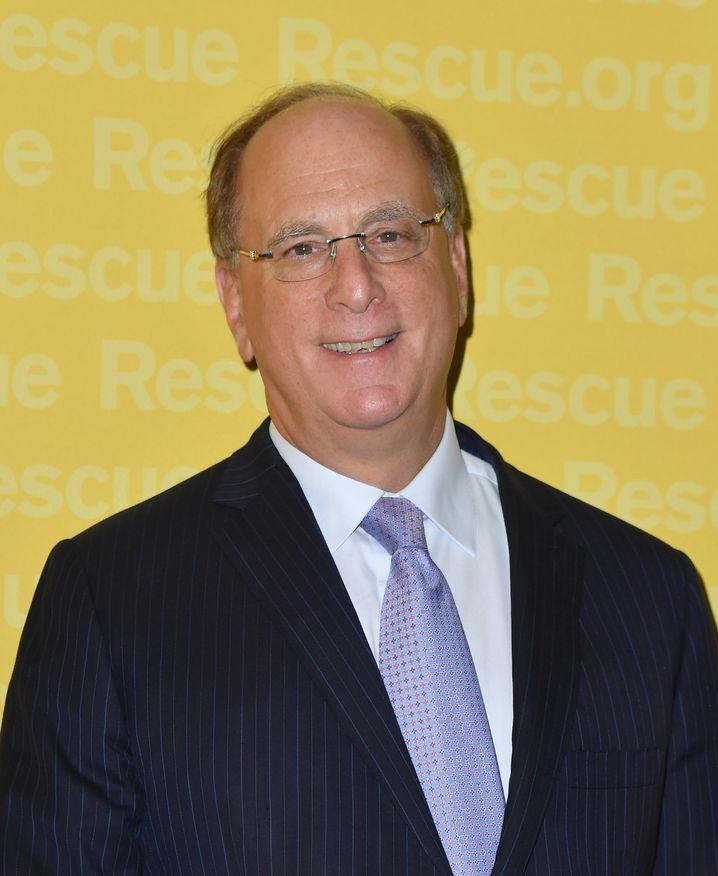 Jetzt auch in grün: Blackrock-Chef Larry Fink sagt 100 Millionen Dollar Anschubhilfe für den von Deutschland und Frankreich gegründeten Klimafonds zu
