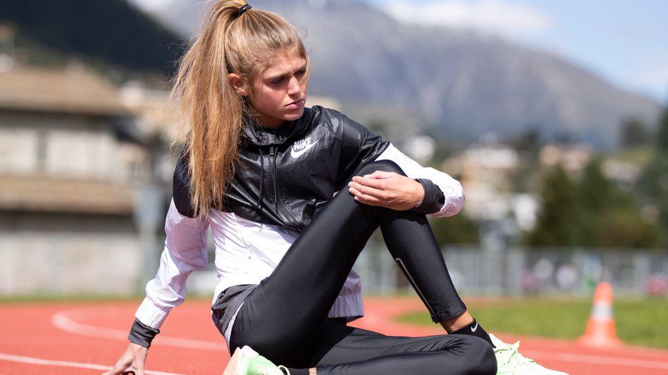 Die deutsche Langstreckenläuferin Konstanze Klosterhalfen gehörte zu den Athleten des Oregon Project