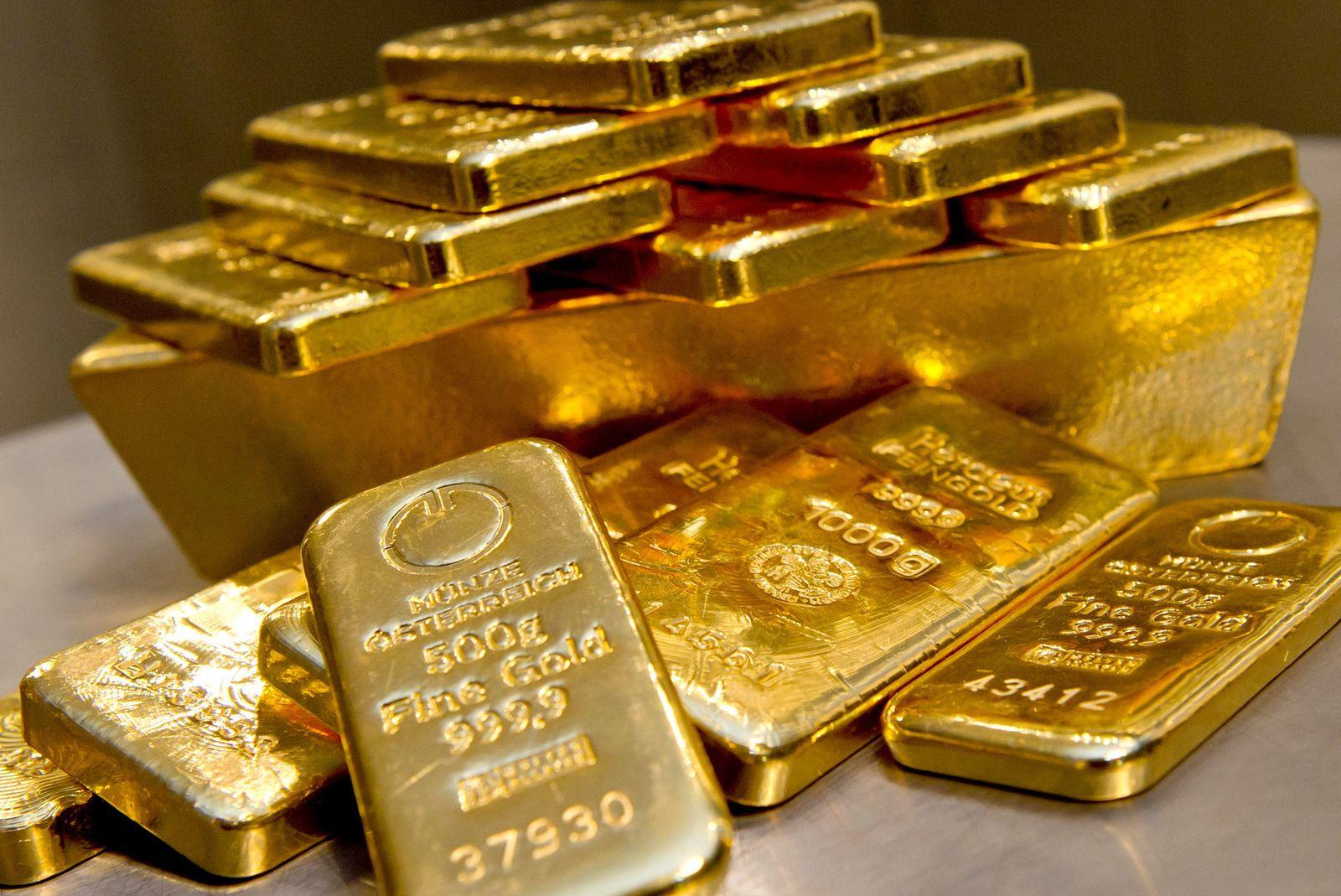 Goldpreis steigt erstmals seit 2013 Ã?ber 1500 Dollar