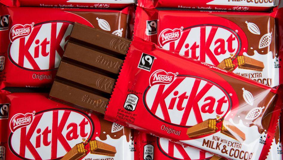 Have a break: Von Nestlé kommen auch beliebte Schokoriegel