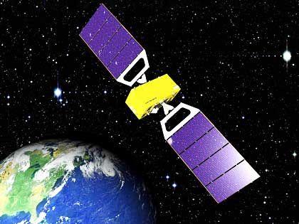 """Europäisches Satellitensystem """"Galileo"""": Ab 2008 ist die europäische Navigation endlich unabhängig vom amerikanischen GPS-System."""