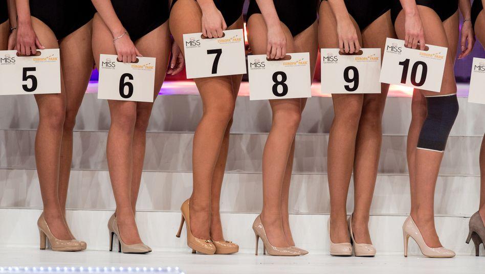 Nummerngirls: Miss-Germany-Kandidatinnen 2017