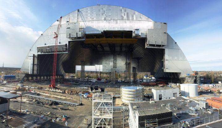 """Atomruine vonTschernobyl: """"Temporäre Abschaltung der Windows-Systeme"""""""