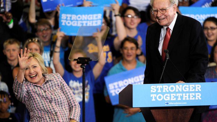 """""""Bring deine Steuererklärung mit"""": Buffetts fünf Wirkungstreffer bei Donald Trump"""