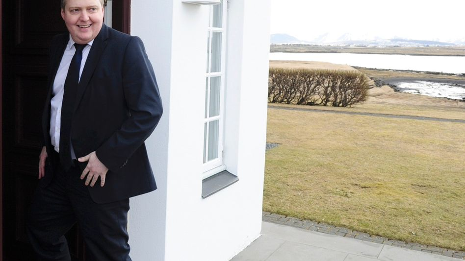 Islands Premier Gunnlaugsson: Auflösung des Parlaments beantragt
