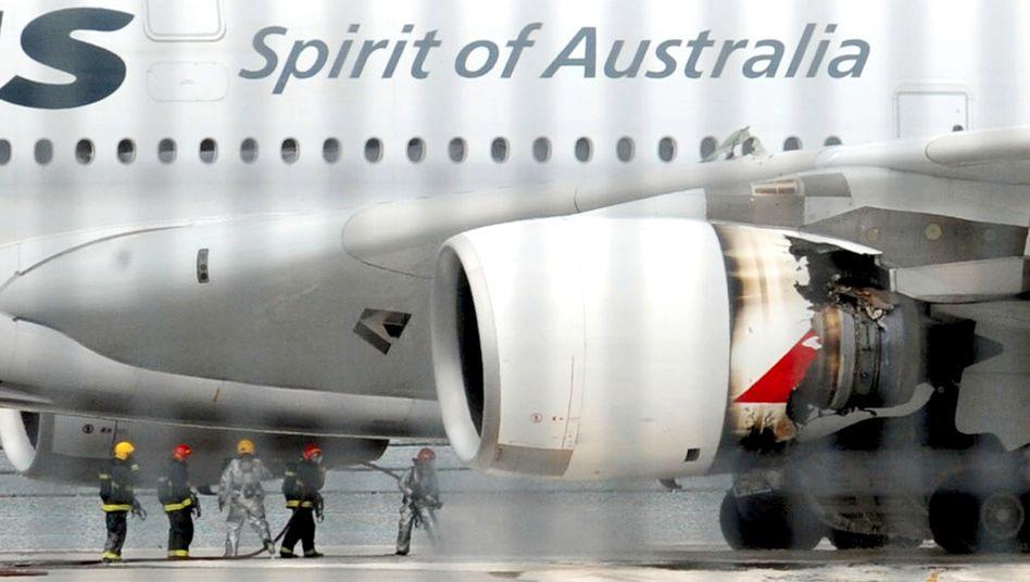 Baufehler: Rund 20 Triebwerke sind von der Sicherheitswarnung der australischen Behörde betroffen