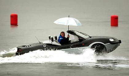 Cabrio im Wasser: Der Aquada