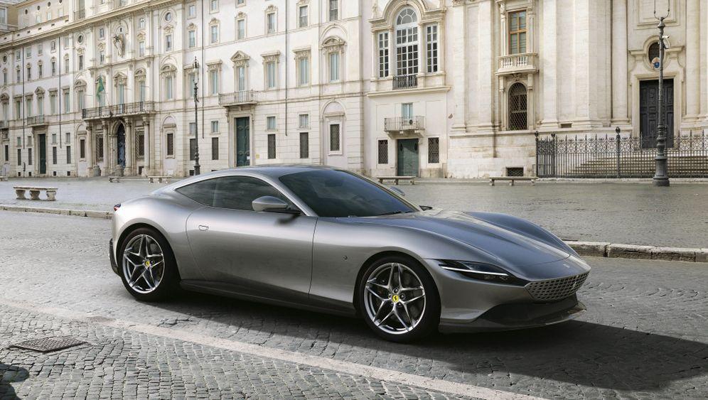 Ferrari Roma in Bildern: Dolce Vita mit hakeligem Infotainment