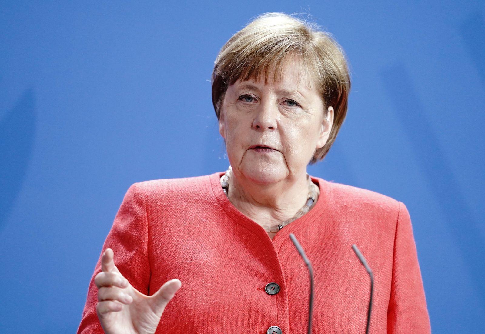 Merkel zu Corona-Zahlen