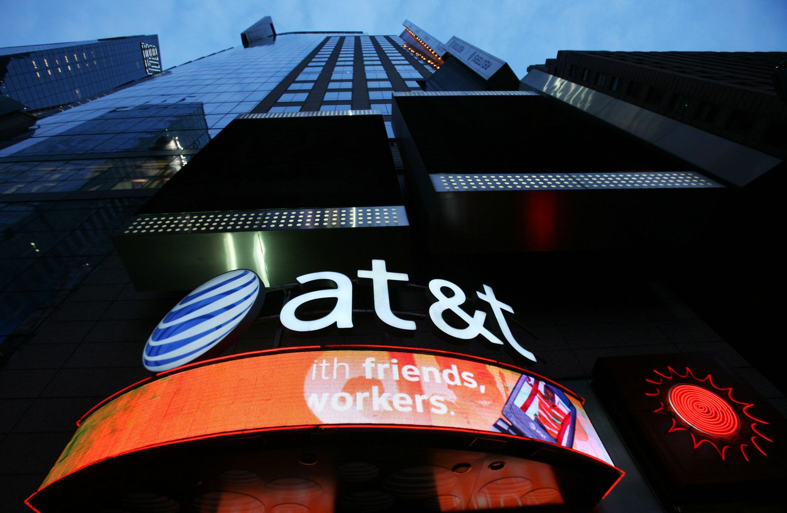 AT&T Geschäft NYC