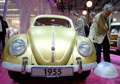 Goldene Zeit des Wirtschaftswunders: VW Käfer von 1955