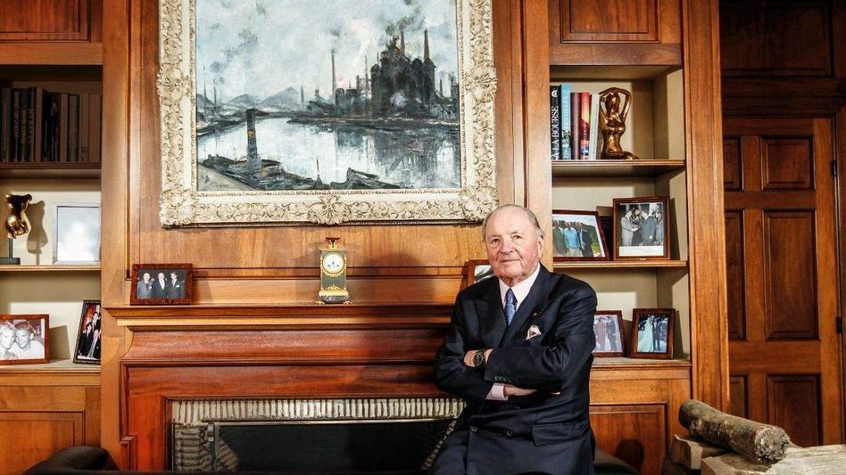 """EUROPAS BUFFETT Albert Frère ist der erfahrenste unter den aktivistischen Aktionären in Europa. In 40 Jahren hat er mit seinem """"Gentleman Activism"""" ein Vermögen von 5,4 Milliarden Euro angehäuft."""