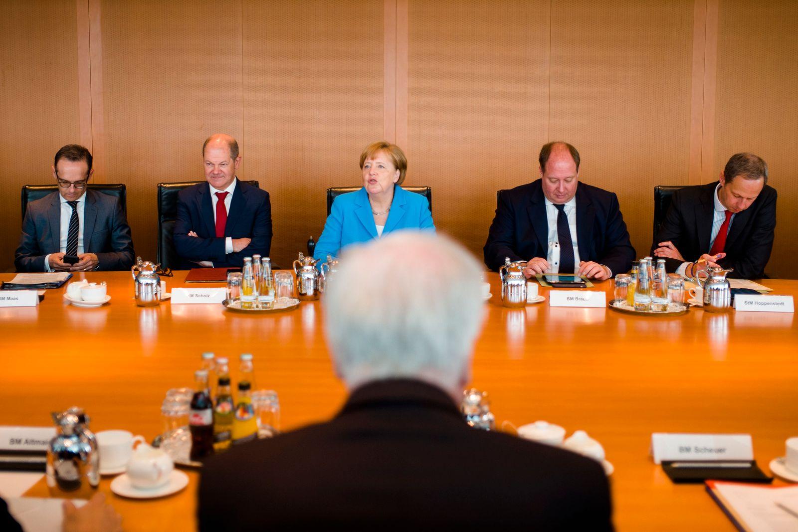 CDU/ CSU/ Seehofer/ Merkel