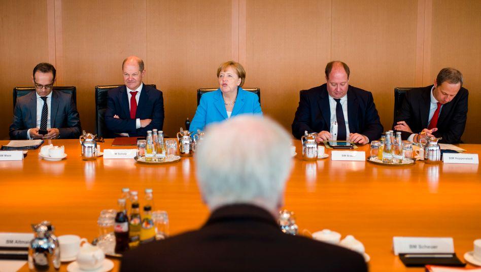 Kabinettssitzung vom 13. Juni 2018.