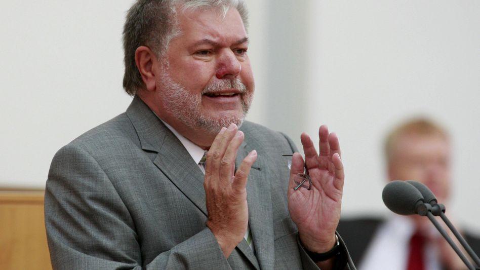 Ministerpräsidenten Kurt Beck: Weiß die Mehrheit im Landtag hinter sich