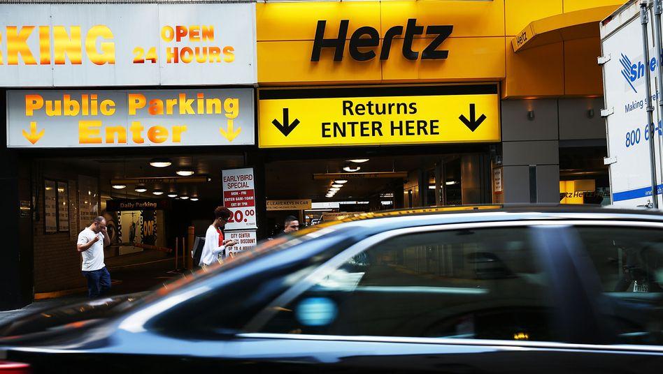 Der US-Autovermieter Hertz flüchtet sich in der Corona-Krise in die Insolvenz