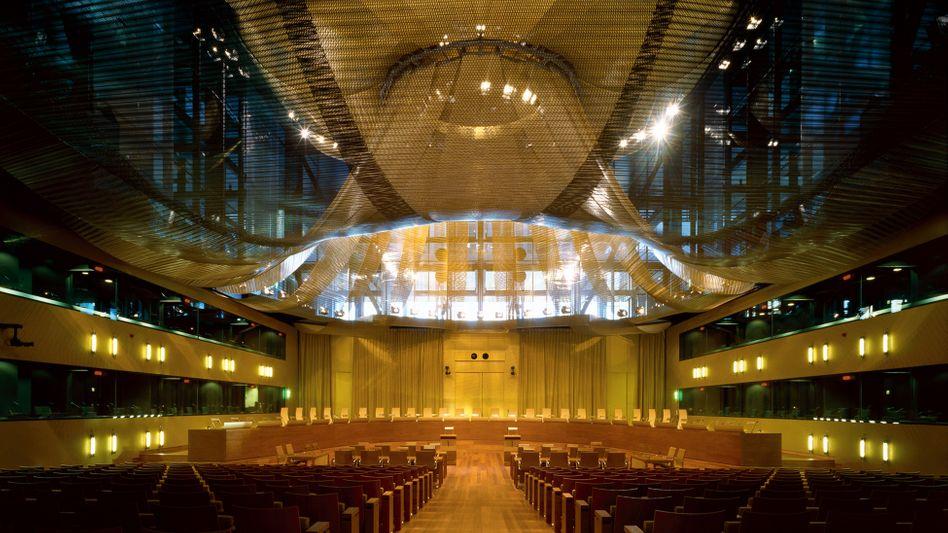 Großer Sitzungssaal des Gerichtshofs der Europäischen Union